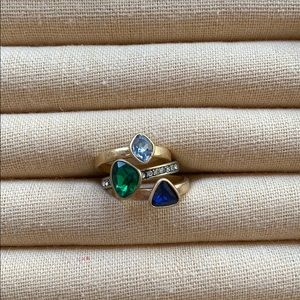 Chloe + Isabel Le Rococo Stackable Rings
